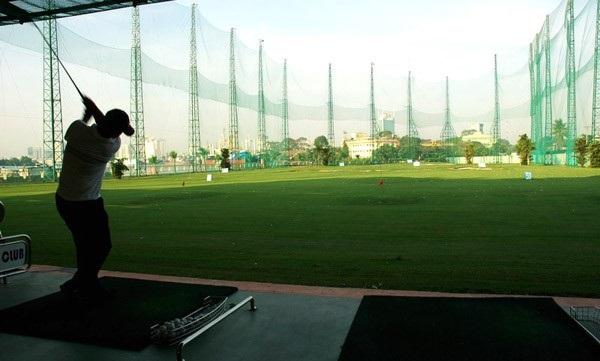 Sân tập Golf Đẳng Cấp Nhất Tại  Dự Án Stella Mega City