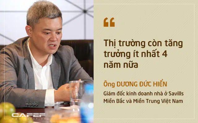 Ông Dương Đức Hiễn cũng đồng quan đểm về đất nền