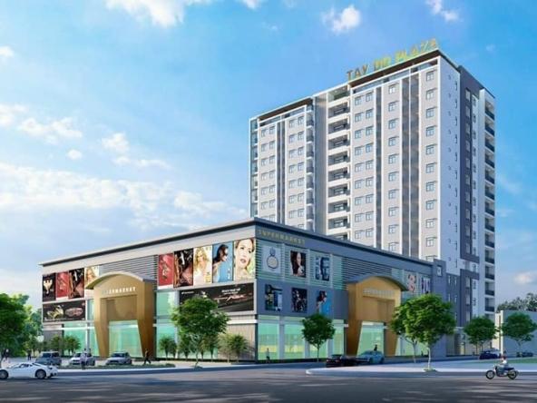 Chung cư tây đô plaza